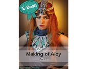 Cosplay Worbla and sewing tutorial book 'Making of Aloy Banuk Ice Hunter part 1 (Horizon Zero Dawn)' by Pretzl Cosplay - E-BOOK