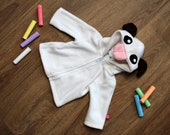 Cute sheep baby/children hoodie, Poro, super cute gift for newborn, baby shower, cosplay halloween costume, gamerkid, nerd, geek
