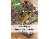 Cosplay sewing and EVA foam armor making tutorial book 'Making of Woodelf Leafeon part 2 (Pokemon)' by Pretzl Cosplay - E-BOOK