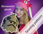 Digital sewing pattern 'Pokemon Shroomish plushie' by Pretzl Cosplay - PDF
