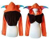 Wild cat cosplay costume hoodie (shrug style) game cosplay, halloween costume, fox