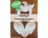 Cosplay Worbla and EVA foam armor making tutorial book 'Making of Woodelf Leafeon part 1 (Pokemon)' by Pretzl Cosplay - E-BOOK