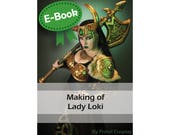 Cosplay Worbla tutorial book 'Making of Lady Loki armor costume' by Pretzl Cosplay - E-BOOK