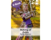 Cosplay foam armor making and sewing tutorial book 'making of princess Zelda (Hyrule Warriors)' by Pretzl Cosplay - E-BOOK