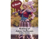 Cosplay prop making worbla tutorial book 'making of Astrid Hofferson's axe (How to train your dragon)' by Pretzl Cosplay - E-BOOK