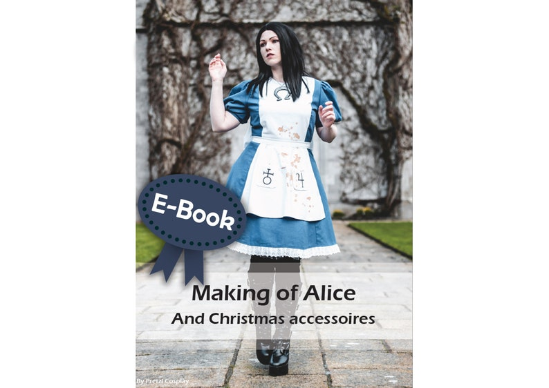 Cosplay sewing tutorial book 'Alice dress and jewelry' image 0