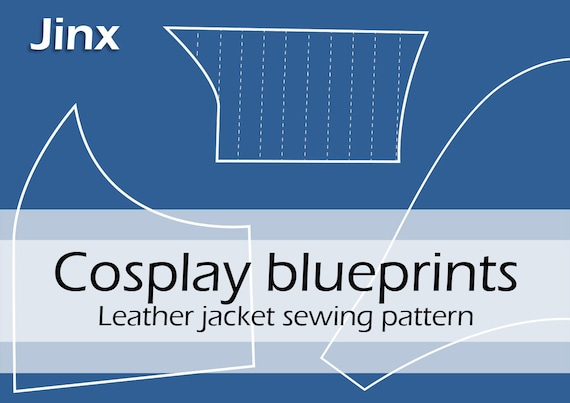Digital Sewing Pattern Jinx Leather Jacket Original Etsy
