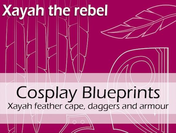 Digital cosplay pattern blueprints league of legends etsy image 0 malvernweather Gallery