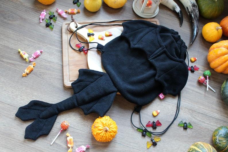 bcebc79efba Zwarte draak cosplay rugzak rugzak tas Cardigan fantasy | Etsy
