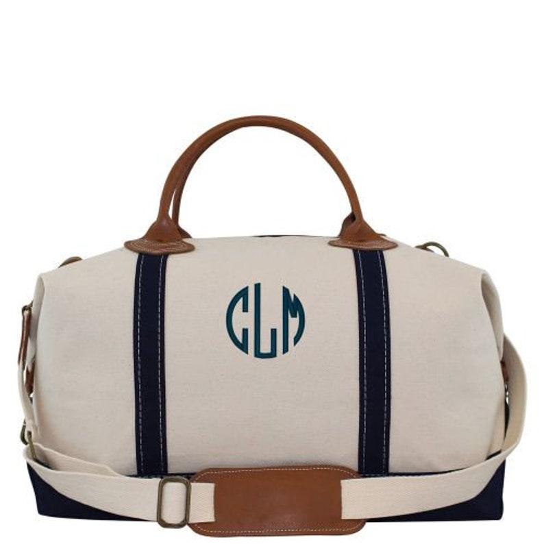 4bbaf9209f47 Monogram Weekender Bag Monogrammed Duffle Bag Personalized