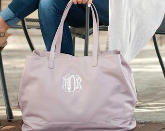 Cambridge Travel Bag -  Woman Weekender Bag - Personalized Birthday Gift - Girls Weekend Bag - Monogram Makeup Bag - Mongrammed Weekender