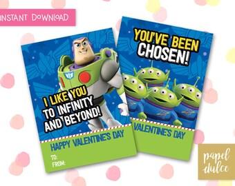Toy Story Valentine Etsy