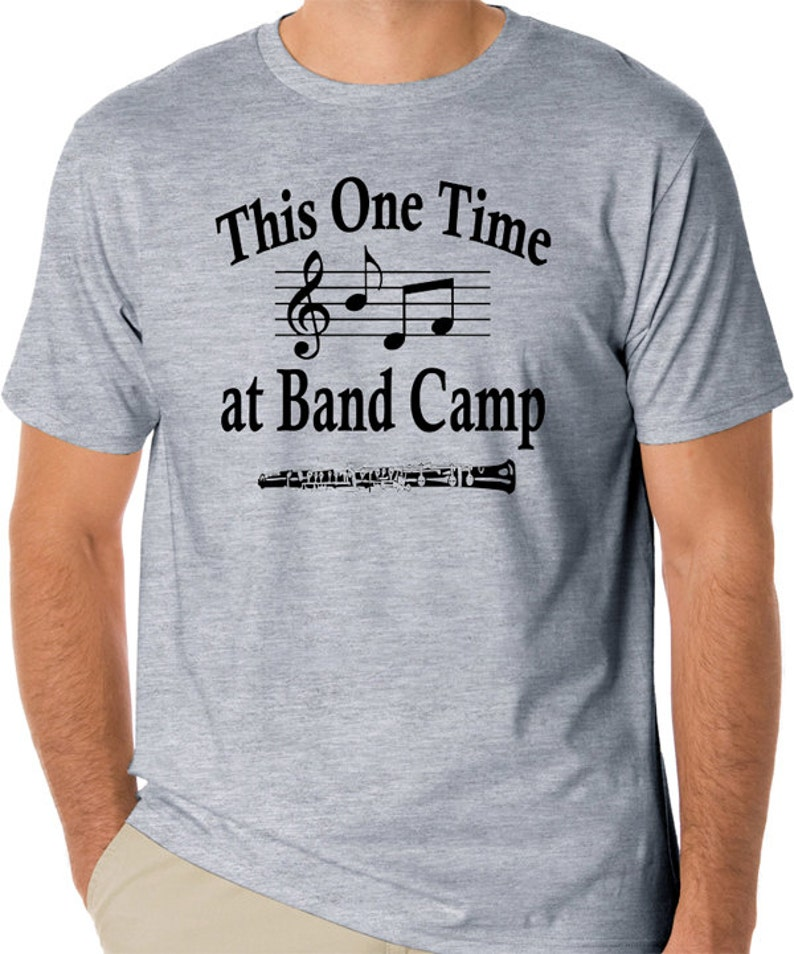 493d19b1 Funny Movie T-Shirt This One Time at Band Camp American Pie | Etsy