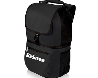 Insulated Backpack Cooler Personal Food Lunch Bag Insulated Travel Cooler Picnic Bag Hiking Beach Outdoor Living