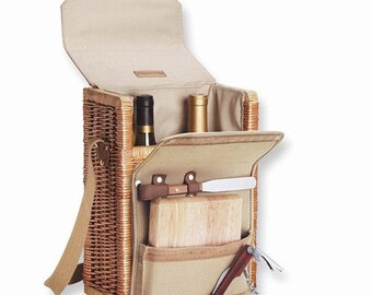 Personalized Wine Cheese Portable Picnic Set Personalized Cheese Board Corkscrew Cheese Picnics Foodie Gift Wine Lovers Travel Wine Tote