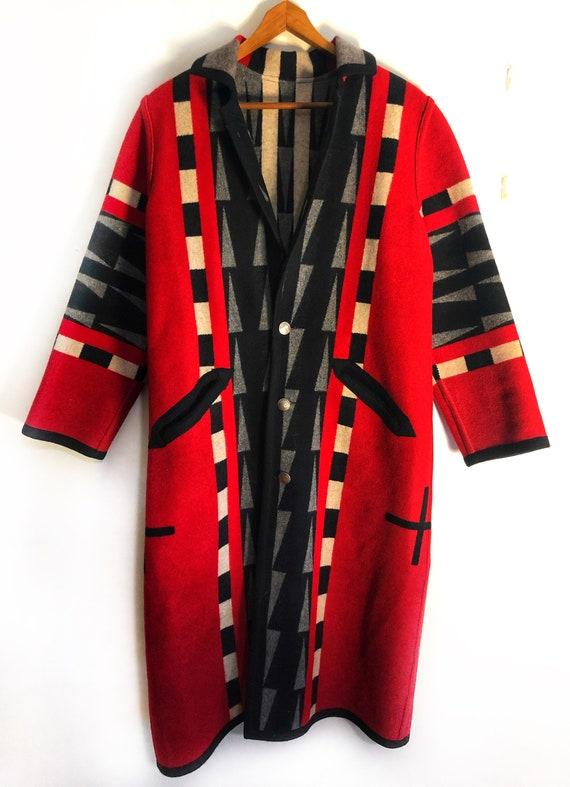 VINTAGE Handmade Native American Indigenous long b