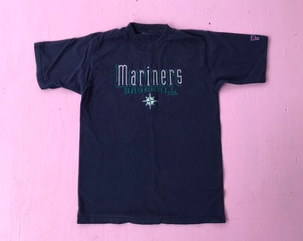 e2029c9311148 1998 Seattle Mariners T Shirt - Small - Vintage Tee - Vintage Clothing -  Clothes - Streetwear - Fashion - MLB - Mariners Baseball -
