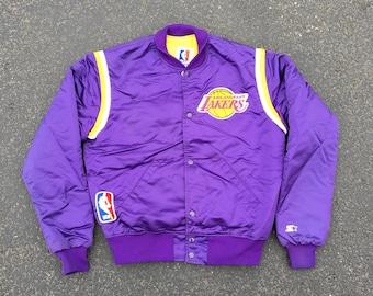80s Los Angeles Lakers Starter Jacket - Medium - NBA - Made in USA - LA  Lakers - New Haven - Vintage Clothing - Rare - e1325fb52edfd