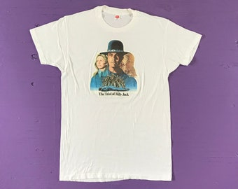Vintage Tees Beige - Vintage Clothing Vintage 90s Rat T shirt Sustainable Large 90s Clothing Eco Friendly