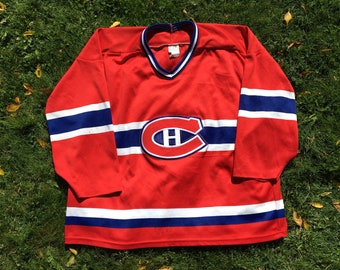 Vintage Montreal Canadiens Jersey - XL - Hockey Jersey - NHL - Vintage  Clothing - Quebec Hockey - On Sale - Mtl - Hockey Night in Canada - 305a0436f