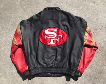 reputable site 87d32 c828c 49ers bomber jacket | Etsy