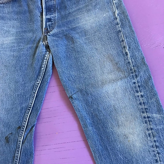 Levis 501 32 x 30 - Made in USA Levis Vintage Clo… - image 7