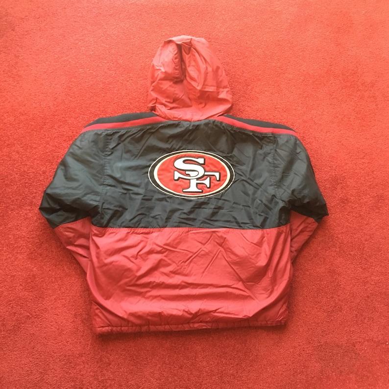 watch b9ad6 b658e San Francisco 49ers Starter Jacket - Medium - NFL - SF 49ers - Vintage  Starter - Vintage Clothing - Football - Distressed -