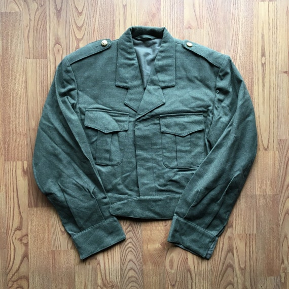 1968 Begetex Military Jacket - Small - Army Jacket