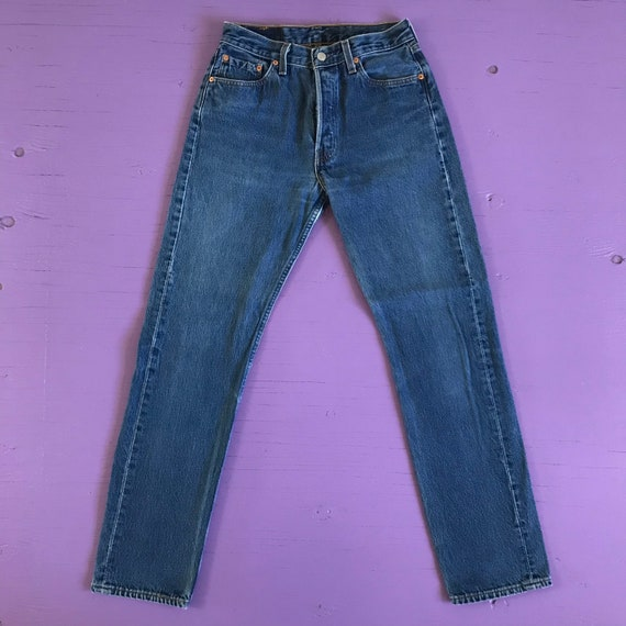 Vintage 90s Levis 501 For Women 28 x 32 - Made in… - image 2