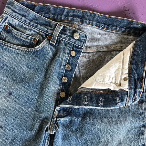 1970s Levis 501 30x30 - Made in USA Levis Vintage… - image 9