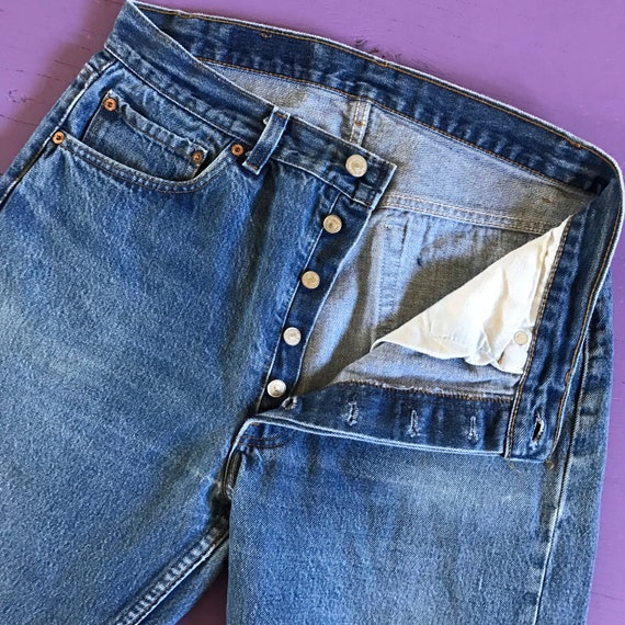 Levis 501 32 x 30 - Made in USA Levis Vintage Clo… - image 10