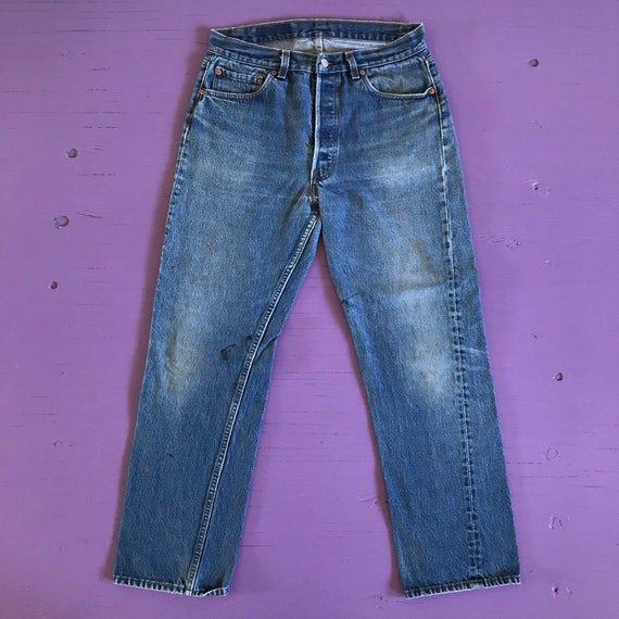 Levis 501 32 x 30 - Made in USA Levis Vintage Clo… - image 2