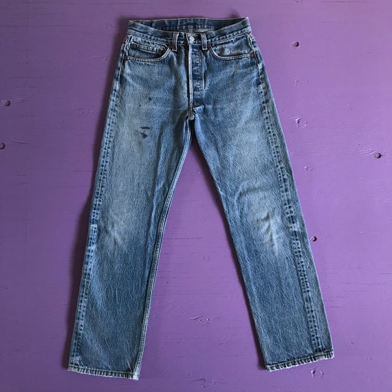 1970s Levis 501 30x30 - Made in USA Levis Vintage… - image 2