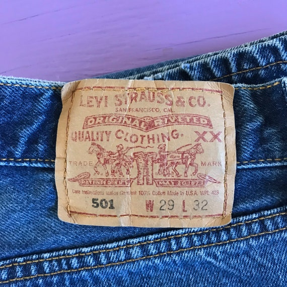 Vintage 90s Levis 501 For Women 28 x 32 - Made in… - image 1