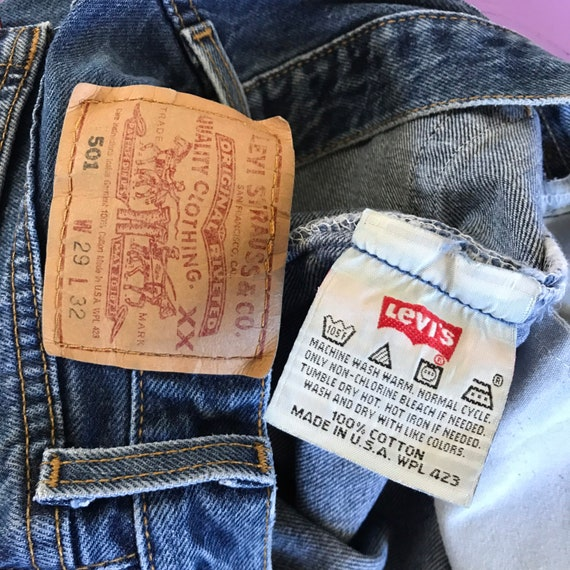 Vintage 90s Levis 501 For Women 28 x 32 - Made in… - image 5