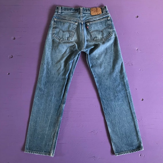 1970s Levis 501 30x30 - Made in USA Levis Vintage… - image 3