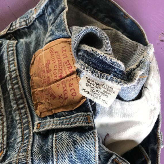 1970s Levis 501 30x30 - Made in USA Levis Vintage… - image 8