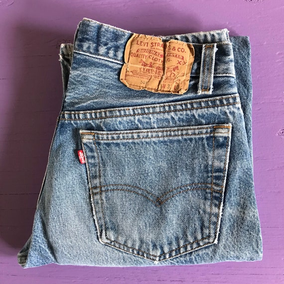 1970s Levis 501 30x30 - Made in USA Levis Vintage… - image 6