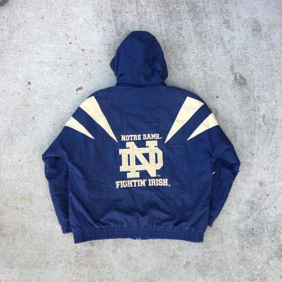 Vintage Notre Dame Fightin  Irish Jacket XL Apex One  9e0013bdf