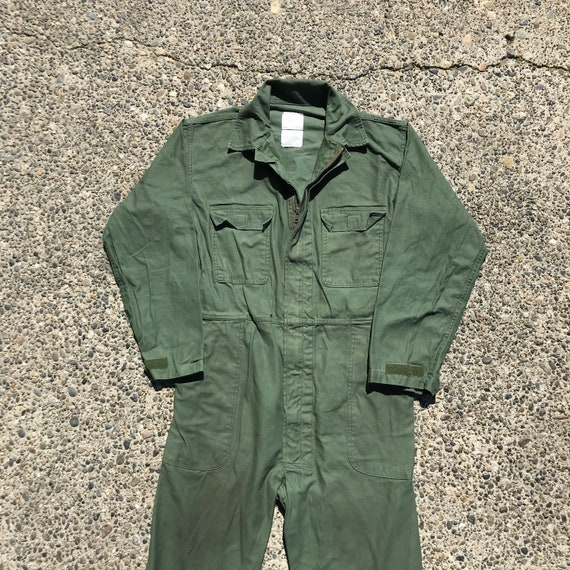 90s Military Coveralls - Large Mens - Army Coveral