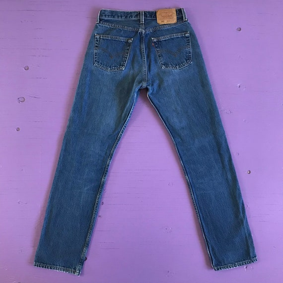 Vintage 90s Levis 501 For Women 28 x 32 - Made in… - image 3