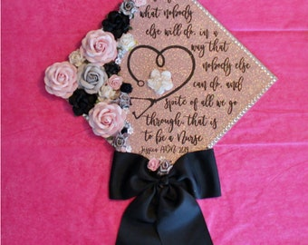Graduation Cap Nurse Etsy