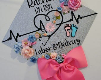 Nurse Graduation Cap Etsy