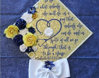 Nurse Graduation Cap Etsy