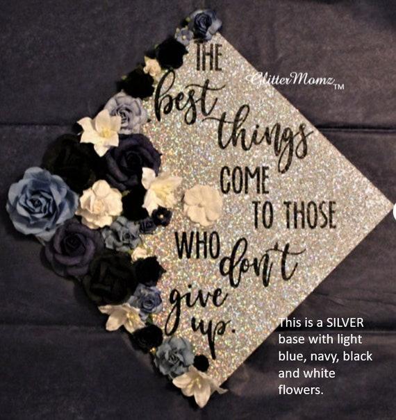 Graduation cap topper