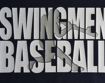 Custom Baseball Team tshirt, hoodie, long sleeves - Swingmen Baseball shown - Customize for your team! Customized Baseball Shirt