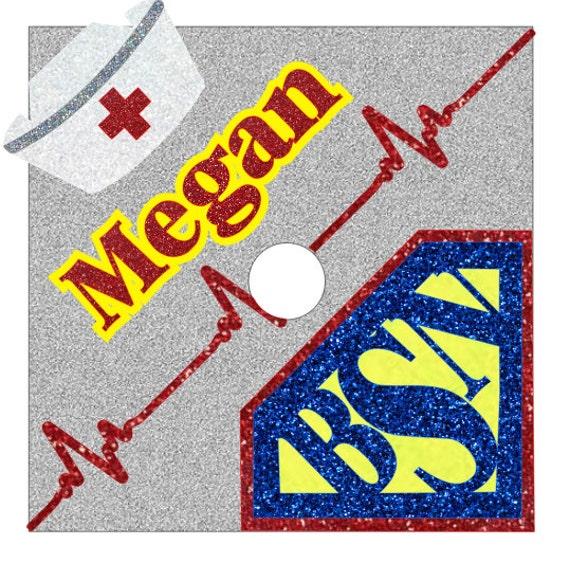 Items Similar To Super RN BSN!! Custom Nurse Graduation