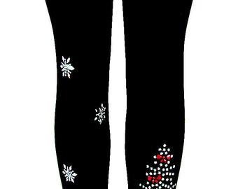plus size christmas leggings etsy