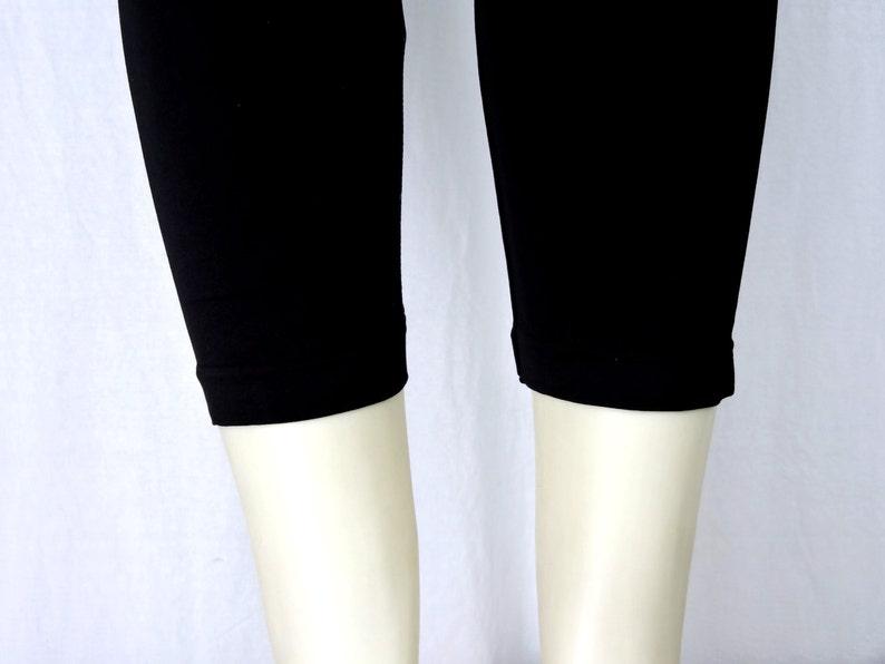 Plus Size Capri Length Leggings Embellished Crystal Rhinestone Pistol Skull Design