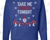 Items Similar To Clearance Sale Item Take Me Gnome Tonight Ugly